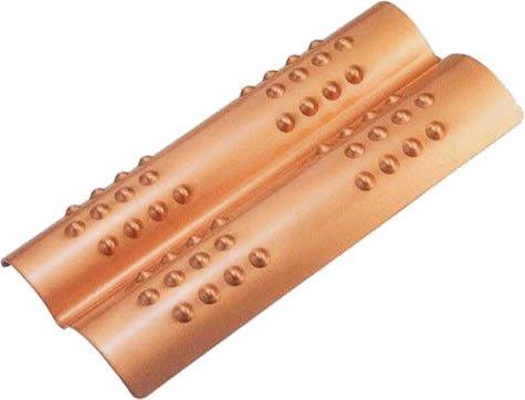 新光堂 純銅製 足裏を刺激 ステップパートナー Sー9392