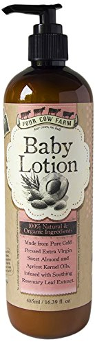 Four Cow Farm Baby Lotion, 485 ml