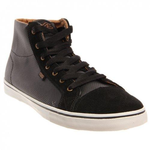 Dvs Men'S Luster High X Cinelli Skate Shoe,Black Leather Cinelli,12 D Us
