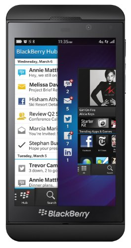 Blackberry Z10 Stl100-1 16Gb Unlocked Gsm Os 10 Smartphone - Black