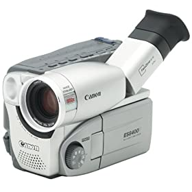 "Canon ES8400V Hi8 Camcorder with 2.5"" Color LCD Screen & Image Stabilizer"