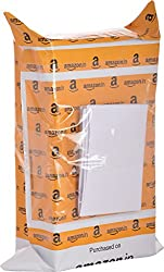 Amazon.in Branded Premium Polybag with Document Pouch (Size -11 Inches X 8 Inches, Count - 500 Polybags)