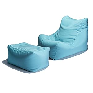 Jaxx Ponce Outdoor Bean Bag Lounge Chair With Leon
