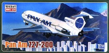Buy Boeing 727-200 Pan Am 1-144 by Minicraft