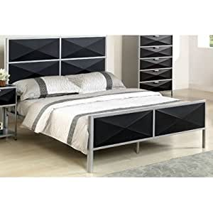 Mason Metal Bed Size Queen Amazon Kitchen & Home