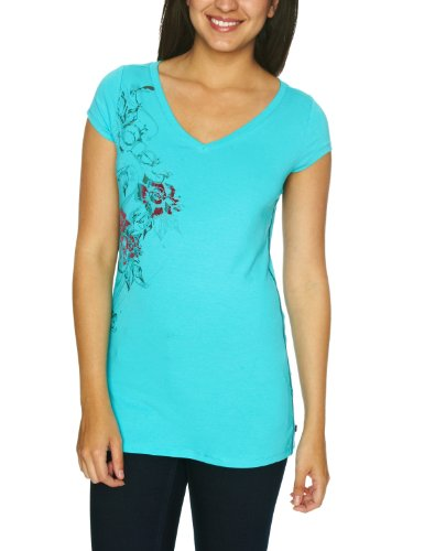 O'Neill Brushwood Short Sleeve Printed Womens T-Shirt