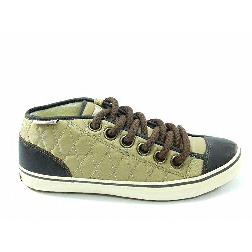 Spalding - Spalding scarpe vintage Net Quilted Nylon Beige - Beige, 37