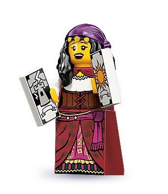 LEGO 71000 - Minifigur Wahrsagerin aus Sammelfiguren-Serie 9
