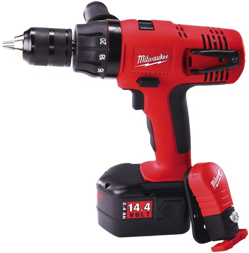 Milwaukee 0615-24 14.4-Volt Ni-Cad 1/2-Inch Cordless Drill/Driver Kit