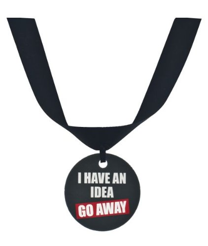 "Ganz Grumpy Cat Collar Accessory ""I Have An Idea Go Away"" - 1"