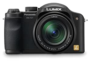 Panasonic DMC-FZ7 6MP Digital Camera with 12x Optical Image Stabilized Zoom (Black)