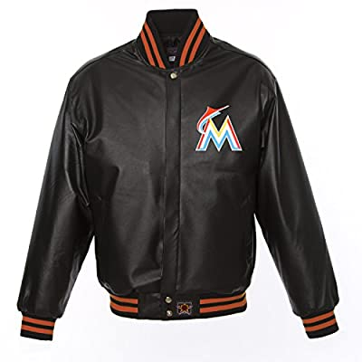 Miami Marlins Leather Varsity Jacket
