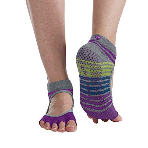 gaiam-grippy-toeless-yoga-socks-mary-jane-small-medium-bright-bouquet