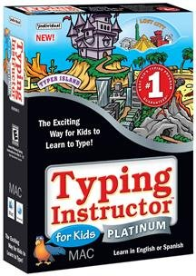 Typing Instructor For Kids Platinum Mac front-767246