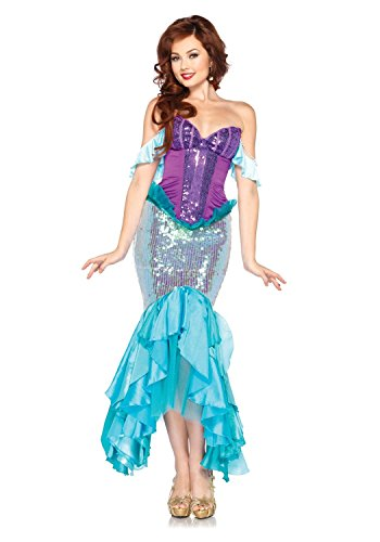 [Hotshopping Cool Halloween Christmas Party Disguise California Costumes Sexy Disney Mermaid] (Sea Siren Sexy Costumes)