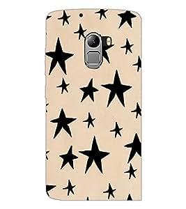PrintDhaba Stars Design D-1451 Back Case Cover for LENOVO K4 NOTE A7010 (Multi-Coloured)