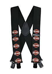 Harley-Davidson Bar & Shield Suspenders, 42 Inch SUS302303
