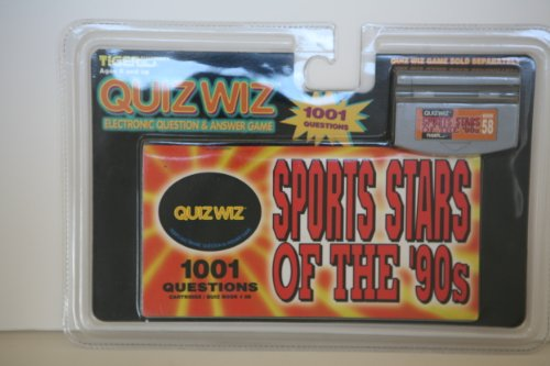 Quiz Wiz Electronic Question & Answer Game Sports Stars Of The '90s - 1