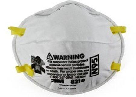 3M N95 Particulate Respirator Mask - 8210BX - 20 Each / Box