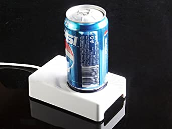 Usb Cooler & Warmer Chiller Cup Coffee Tea Beverage Drink Cans Pc Plug & Play