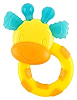 Bright Starts First Bites Stage Teether, Giraffe by Bright Starts