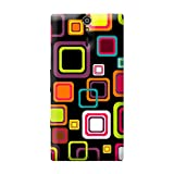 Garmor Seamless Colorful Design Plastic Back Cover For Sony Xperia S (Seamless Colorful - 2)