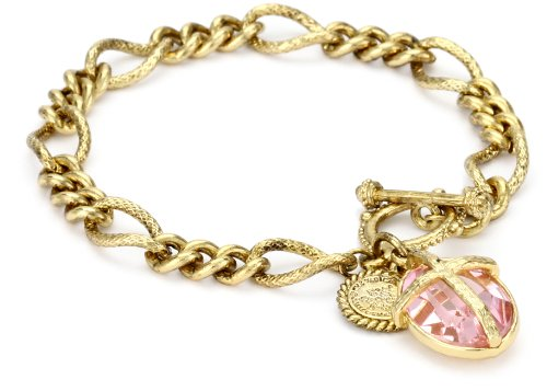 The Vatican Library Collection Kingdom Pink Cross Bracelet