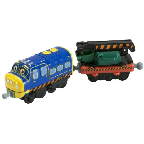 Chuggington StackTrack Chuggineer Brewster and Digger Car