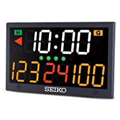 Buy Seiko Table Top Scoreboard, Black by CEI