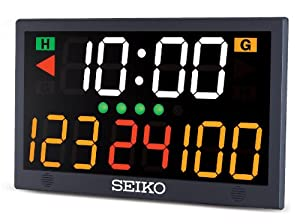 Seiko Table Top Scoreboard, Black by Ultrak