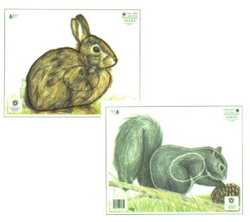 NFAA Group 4 Small Animal Target (Paper), Rabbit (Archery Targets Animal compare prices)