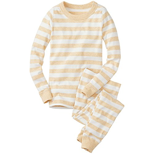 Hanna Andersson Little Boy Kids Long John Pajamas In Organic Cotton
