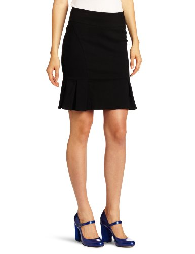 Rampage Juniors Pencil Skirt, Black, 3 Image