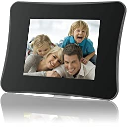 Coby DP860 Digital Photo Frame with Multimedia Playback and Remote Control