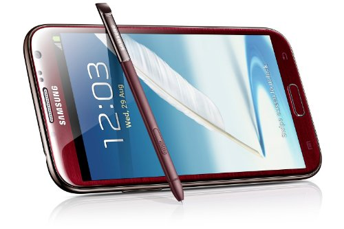 "Samsung Galaxy Note Ii Note 2 Red / N7100 ,5.5"" Super Amoled , Quad-Core ,S-Pen Specail Gift For Special One Fast Shipping"