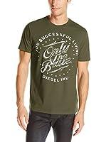 Diesel Camiseta Manga Corta T-Balder (Verde)