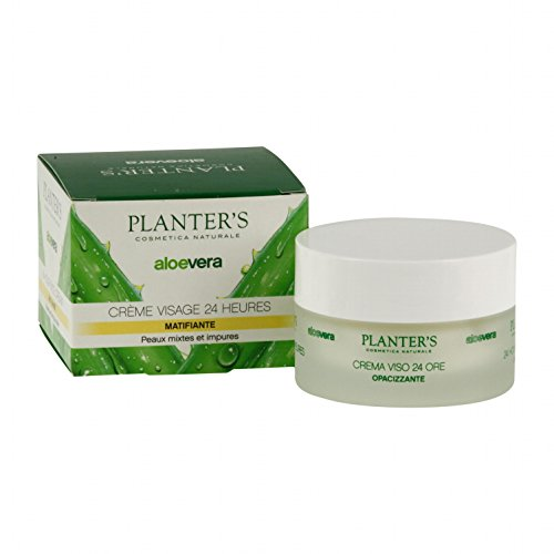 Planters Aloe Crema Viso 24H Opacizzante 50ml