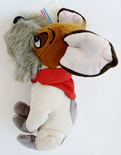 "Disney's Oliver & Company Dodger 7"" Plush Bean Bag - 1"