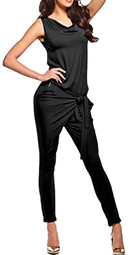 cravog jumpsuit damen elegant overall einteiler hosenanzug hose lang. Black Bedroom Furniture Sets. Home Design Ideas