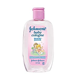 JOHNSONS BABY COLOGNE 125ML - SLIDE