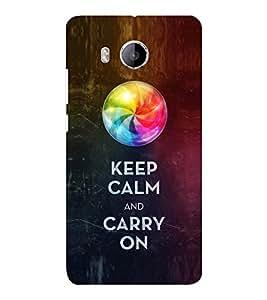 EPICCASE Carry on like a boss Mobile Back Case Cover For VIVO X shot (Designer Case)