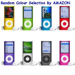 8GB MP3/MP4 Player (4th Gen) with FM Radio
