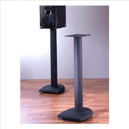 "Vti Df Black Speaker Stands - 29"" Height"