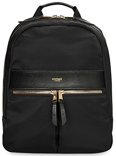 knomo-luggage-mayfair-nylon-beauchamp-mini-10-inch-backpack-black-one-size