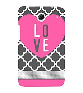 Love Girly 3D Hard Polycarbonate Designer Back Case Cover for Lenovo K880