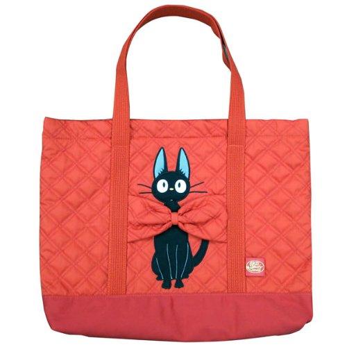 Quilting retsuuntort (lesson bag Tote) Red Ribbon black cat Jiji Majo Kiki's delivery service (Ghibli)