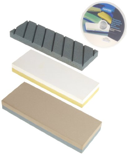 Purchase Cheap Norton Waterstone Starter Kit: 220/1000 grit stone, 4000/8000 grit stone, SiC flattening stone