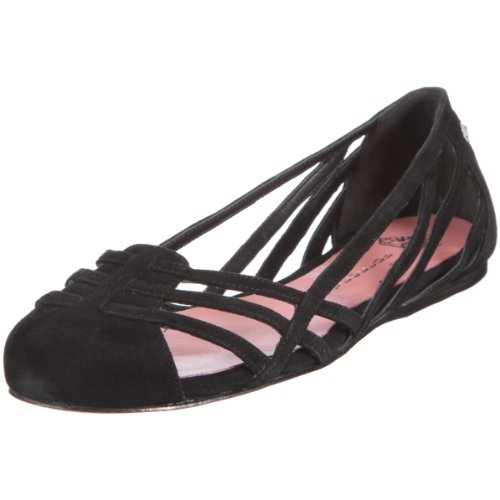 Fornarina AGATHE PEFAG7760WS00, Ballerine donna - Nero, 39 EU