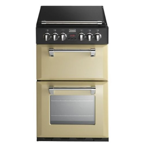 Stoves RICHMOND 550ECHA 550mm Mini Range Electric Cooker LED Display Champagne