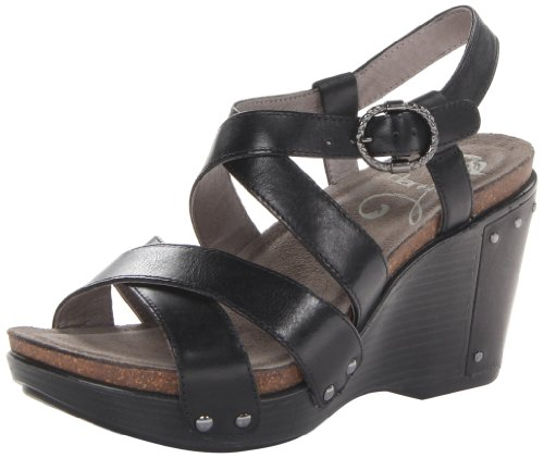 Dansko Women'S Frida Wedge Sandal,Black Ant,38 Eu/7.5-8 M Us front-1068285